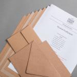 Kraftpapier Probepäckchen