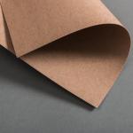 Kraftpapier Karten einfach 120 x 171 mm