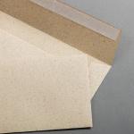 Graspapier Couverts DIN lang haftklebend ohne Fenster