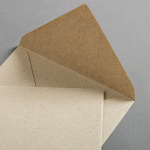 Graspapier Couverts DIN B6 125 x 176 mm nassklebend
