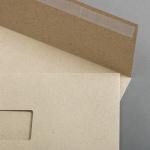 Graspapier Couverts DIN C5 haftklebend mit Fenster