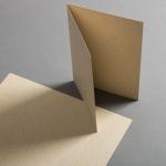 Graspapier Karten DIN A5 hochdoppelt