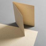 Graspapier Karten DIN B6 hochdoppelt