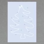 Weihnachtsbaum DIN A4