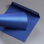 Metallics gebürstet Couverts 155 x 155 mm Blueprint