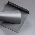 Metallics gebürstet Couverts 155 x 155 mm Shadow