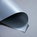 Metallics gebürstet 250/300 g DIN A3 | Chrom | 300 g/m²
