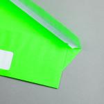 Ultra Neon Couverts DIN lang | Neon Grün | mit Fenster