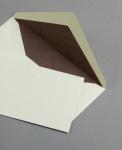 Pergament Hülle DIN lang Altweiss