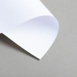 Karten Weiss DIN Lang Einfach