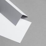 Tischkarten Weiss - 86 x 105 mm
