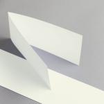 Karten Elfenbein DIN Lang querdoppelt