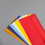 Transparent Farbig Couverts DIN Lang