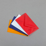 Transparent Farbig Visitenkartencouverts