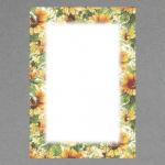 Sonnenblumen-Rahmen A4