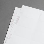 Promaxx Visitenkarten Weiss