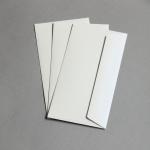 C-Cards Metallic Schimmernd Couverts DIN Lang