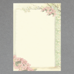 Kirschblüten A4