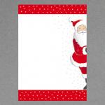 Weihnachtsmann A4