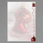 Weihnachtsschmuck A4