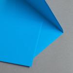 Farbige Couverts DIN B6 Karibischblau