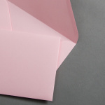 Farbige Couverts DIN B6 Rosa
