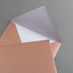 Couverts Kupfer DIN C5