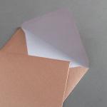 Couverts Kupfer DIN C6 25 Stück