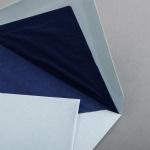 Büttencouverts French Blue Diplomat (118 x 182 mm)
