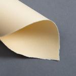 Farbige Büttenkarten einfach Butter Cream 115 x 170 mm