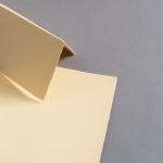 Farbige Büttenkarten hochdoppelt Butter Cream 115 x 170 mm