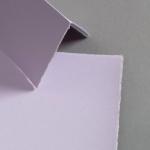 Farbige Büttenkarten hochdoppelt Lavender 115 x 170 mm