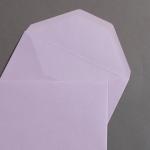 Farbige Büttencouverts Lavender 120 x 180 mm