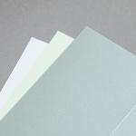 Majestic Metall Karten DIN Lang hochdoppelt