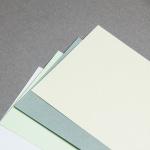 Majestic Metall Karten DIN Lang querdoppelt