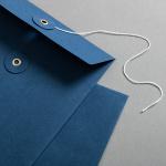 Couvert C5 mit Bindfadenverschluss Blau