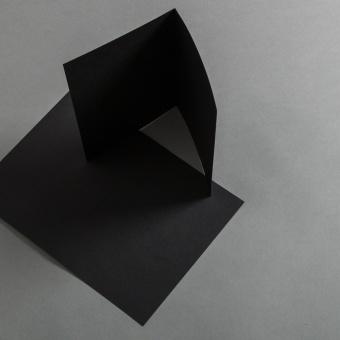 Karten Schwarz 120 x 170 mm hochdoppelt