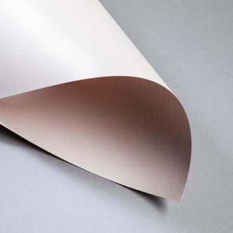 Metallics gebürstet 250/300 g DIN A4 | Nude | 300 g/m²