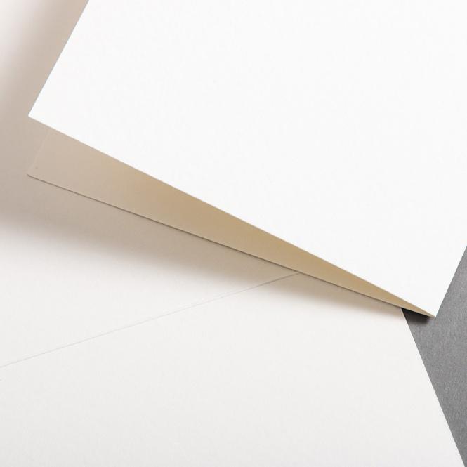 Aquarellkarten Weiß hochdoppelt 118 x 168 mm