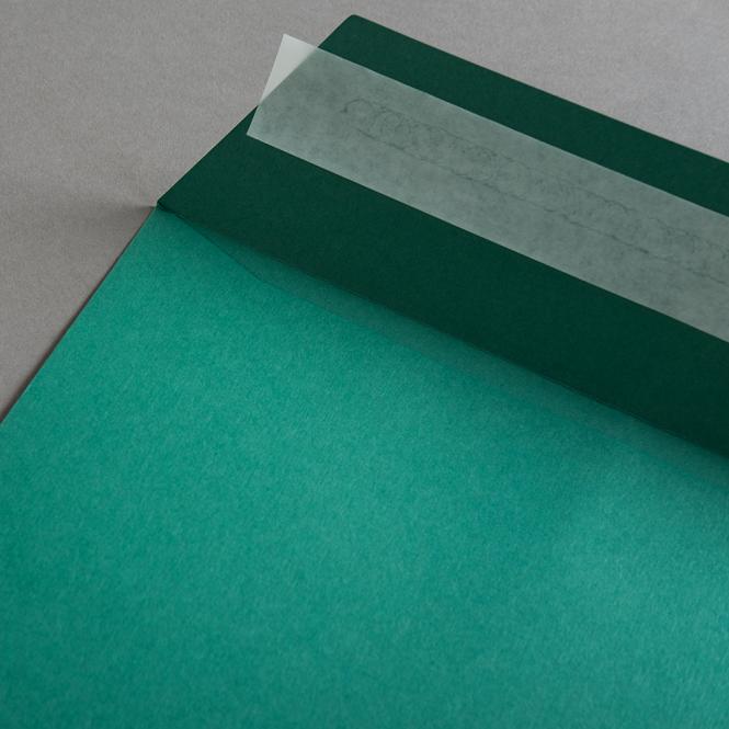 Colorplan Couverts DIN C4 Smaragdgrün