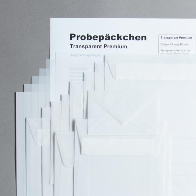 Transparentpapier Premium Probepäckchen