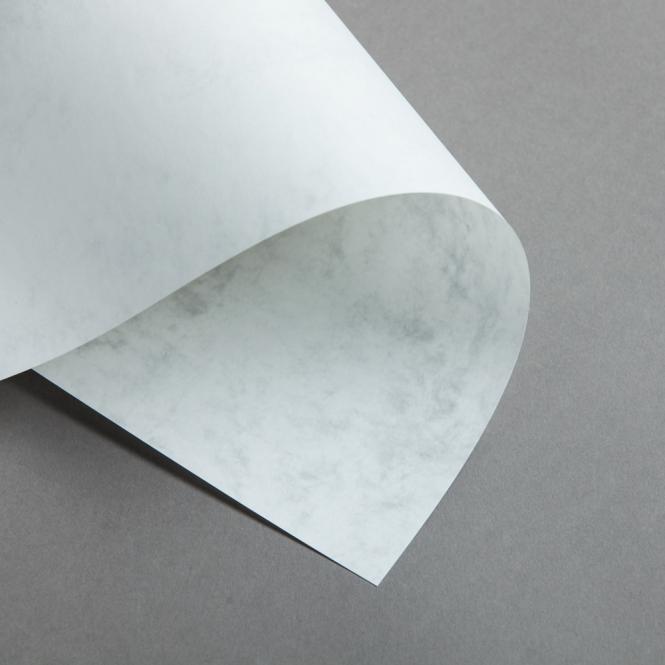 Marmor dtp 200 g DIN A4 | Hochweiß / Hellgrau