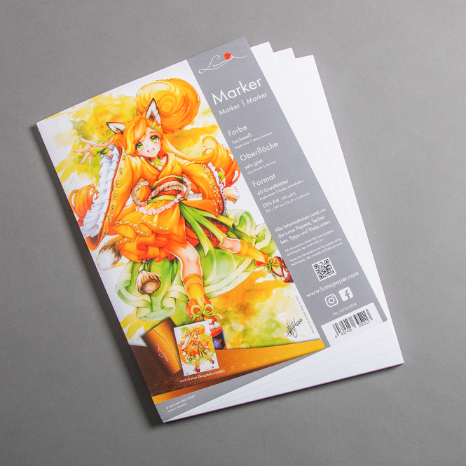 Luma Marker Papier DIN A4