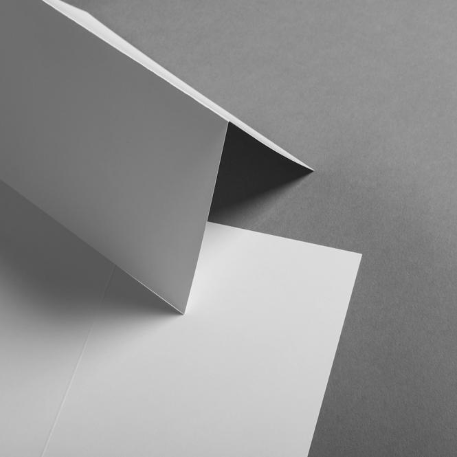 Karten Weiss hochdoppelt 120x171 mm