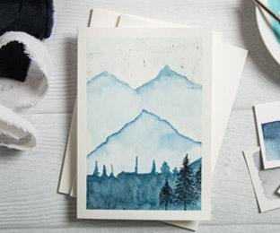 aquarellkarten-weiss